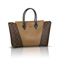 #LouisVuitton #Handbags Louis Vuitton W PM Brown Top Handles