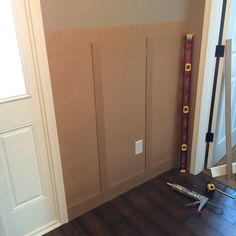 We just finished a DIY board and batten project in our front entry. Read all about how we did it right here!