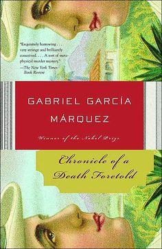 Una cronica de una muerte anunciada. Mi libro favorito!!!!