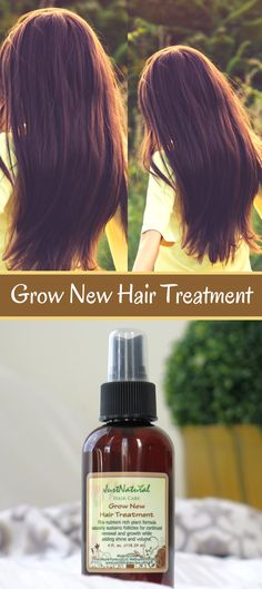 Use this Grow New Treatment if you want to regrow your hair fast and longer naturally! Made with more than 32 Natural Essential Oils.