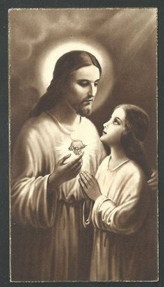 Religious Pictures, Religious Icons, Heart Of Jesus, Jesus On The Cross, Image Jesus, Bless The Child, Saint Esprit, Way To Heaven, Bride Of Christ