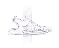 footwear sketch Jan-Maarten Lubberts