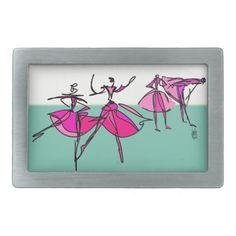 Ballet Class Belt Buckle