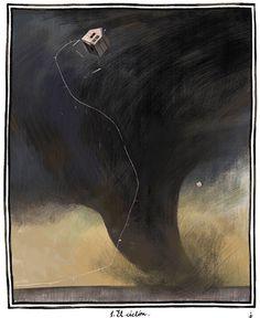Wizard of Oz illustration by Julia Sarda, Julia Sarda, Land Of Oz, Art Brut, Mystique, Children's Book Illustration, Wizard Of Oz, Book Art, Art Photography, Animation