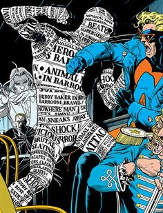 Front Page by Brian Bolland.  Cameo by Animal Man.