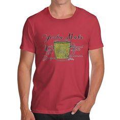Men's Tea Recipe Yerba Mate T-Shirt