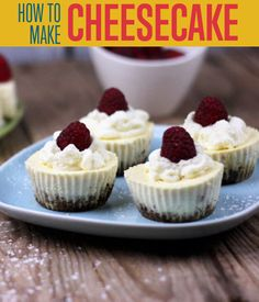 How To Make Quick and Easy Cheesecake | This a great dessert recipe you should try out. #DIYReady DIYReady.com