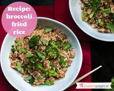 food recipes malaysian seitan broccoli mushroom fried rice