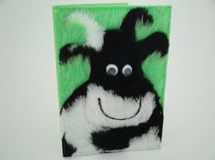 Funny cow card / Handmade cow greetings card / Cow by InOurCoats, £4.60