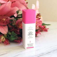 Smoother, Radiant Skin Overnight with Drunk Elephant Skincare T.L.C Framboos Glycolic Night Serum (Review)