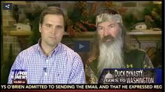 Duck Dynasty's Phil Robertson On Fox News: If I Were In Politics, I Would Cut Government In Half