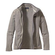 Combines the aesthetic of wool with the easy care of fleece...I'm sold! Patagonia Better Sweater Jacket still on sale! @Elizabeth Silbermann
