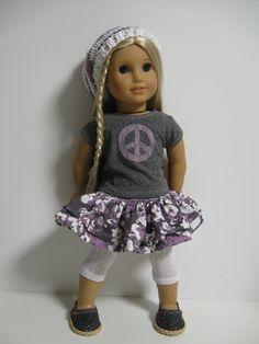 American Girl Doll -  Plum Peace.