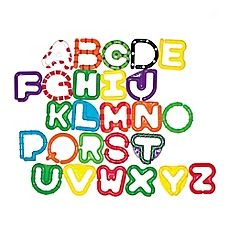 image of Sassy® Linking Letters