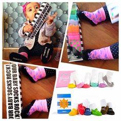 Baby socks trumpette