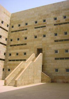 Ministry of Foreign Affairs, Saudi Arabia. Henning Larsen Architects, 1984.