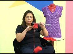 Cristina Amaduro - regata em crochê peruano com Camila Mais - YouTube