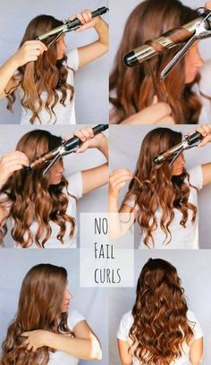 How to Curl Your Hair Using Curling Iron,1. Beachy Waves,2. Spiral Curls Be featured in Model Citizen App, Magazine and Blog. www.modelcitizenapp.com