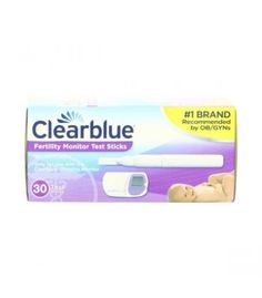 For use with the Clearblue Fertility Monitor, the Clearblue Fertility Monitor Test Stick pack includes 30 individually wrapped test sticks. The majority of women who are trying to conceive will need 10 test sticks each cycle.