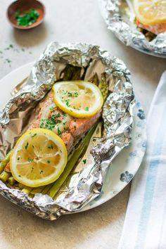 La cena con salmón más sencilla que puedes hacer, en verdad. La receta aquí.
