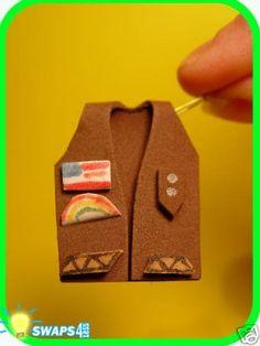 Brownie Vest swap