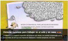 AYUDA PARA MAESTROS: 10 RECURSOS PARA TRABAJAR LA DISLEXIA EN EL AULA Y...