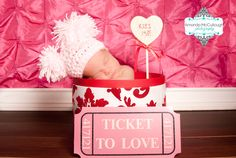 Valentine Baby Picture