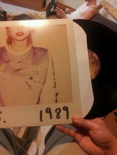Taylor Swift's 1989 on vinyl.