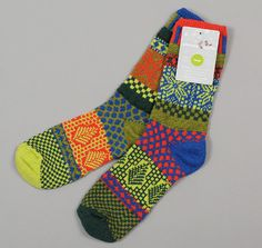 """""""HOLLY"""" RECYCLED COTTON SOCKS :: HICKOREE'S"""