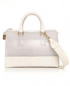 e3088325dafb Furla Handbag, Candy Two Tone Croco Bauletto Bag - Macy's $428  #Pradahandbags #furlahandbags