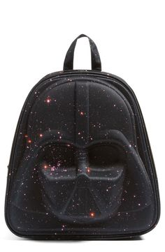 61087d931a587 How cool is this Star Wars™ - Darth Vader Galaxy Backpack from Nordstrom   Love that its made with durable nylon and has functional zipper pockets.