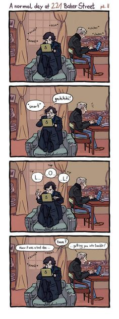 That's all we need: Sherlock on Tumblr.