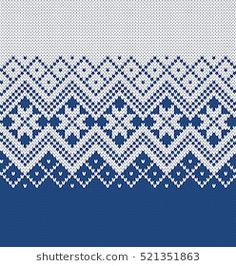 Find Norway Festive Sweater Fairisle Design Seamless stock images in HD and millions of other royalty-free stock photos, illustrations and vectors in the Shutterstock collection. Knitted Mittens Pattern, Fair Isle Knitting Patterns, Knitting Charts, Knitting Stitches, Knitting Designs, Knit Patterns, Embroidery Patterns, Motif Fair Isle, Fair Isle Chart