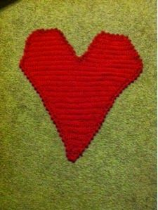 Treasures Made From Yarn: Giant Heart
