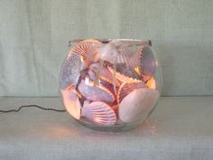 NANTUCKET SCALLOP SHELL Night Light  E by MaidenNantucket on Etsy, $85.00
