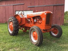 Very rare Allis-Chalmers WF Antique Tractors, Vintage Tractors, Vintage Farm, Lawn Tractors, Old Tractors, Boy Toys, Toys For Boys, Agriculture, Farming