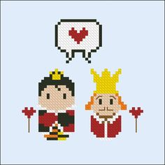 Some couples are just so iconic it's worthy of a cross-stitch pattern. Makes a great gift for the love in your life - perfect for weddings, anniversaries, and Valentine's Day