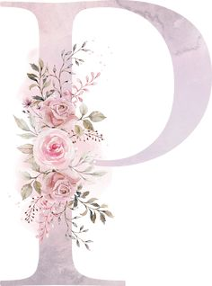 P g letra Monogram Wallpaper, Alphabet Wallpaper, Name Wallpaper, Wallpaper Backgrounds, Iphone Wallpaper, Watercolor Lettering, Floral Watercolor, Tags Rosa, Stylish Alphabets