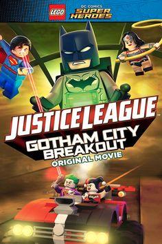 LEGO DC Comics Super Heroes: Justice League - Gotham City Breakout 2016 full Movie HD Free Download DVDrip