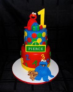 Sesame Street Cake  Cake by CuteologyCakes
