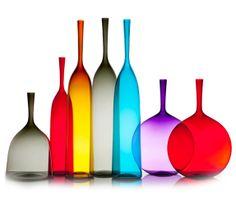Joe Cariati Glass, Los Angeles Glassblower, Mouth Blown Glass
