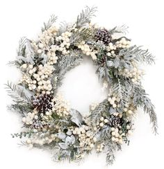 winter berry wreath