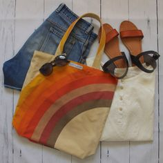 Elevate a classic summer outfit with this retro fabulous reversible tote bag handcrafted from sustainable repurposed materials! Reversible Tote Bag, Longchamp, Tote Bags, Repurposed, Summer Outfits, Retro, Classic, Style, Fabric Handbags
