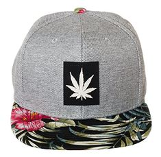 Artisan Owl Marijuana Pot Leaf Snapback Flat Bill Weed Cannabis Baseball Cap  Embroidered Hat ebdbf96ccd38