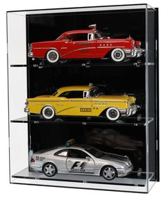 Acrylic wall display case for three 1 18 scale model cars acrylic carcollectionshelves cars case display model scale wall electronic two wheeled motorcycle diy model building block set compatible lego Model Display Cases, Wall Mounted Display Case, Wall Display Cabinet, Glass Display Case, Display Shelves, Display Cabinets, Hot Wheels, Models Men, Mini Car