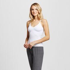 Women's Pajama Seamless Camisole True White XS