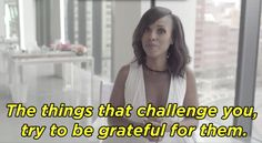 The challenges you face will ultimately pay off in the long run. | We Should All Take The Advice Kerry Washington Has For Her Younger Self