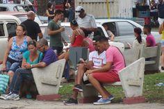 Los parques Wifi en Cuba una zona de peligro