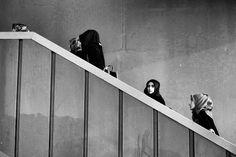 Women at Galata Bridge #streetphotography #blackandwhite #bnw