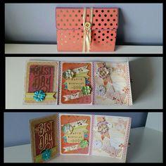 Birthday card flipbook
